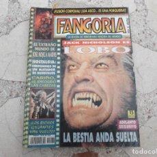 Cinema: FANGORIA Nº 32, LOBO DE NICHOLSON, JOSE MOJICA MARINS,LOS BICHOS GIGANTES HAN VUELTO,. Lote 190804817