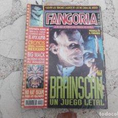 Cinema: FANGORIA Nº 33,BRAINSCHN UN JUEGO LETAL, STEPHEN KING,CRONOS CHUPA SANGRE MEXICANO,BIG MACK. Lote 190806261