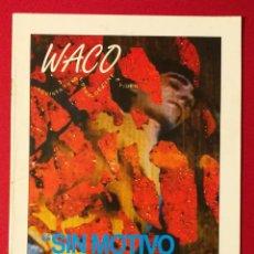 Cine: WACO - REVISTA TRIMESTRAL DE CINE E VIDEO Nº3 1996. Lote 190854321