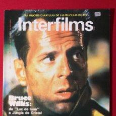 Cine: REVISTA INTERFILMS Nº 3 OCTUBRE 1988 BRUCE WILLIS. Lote 190869156