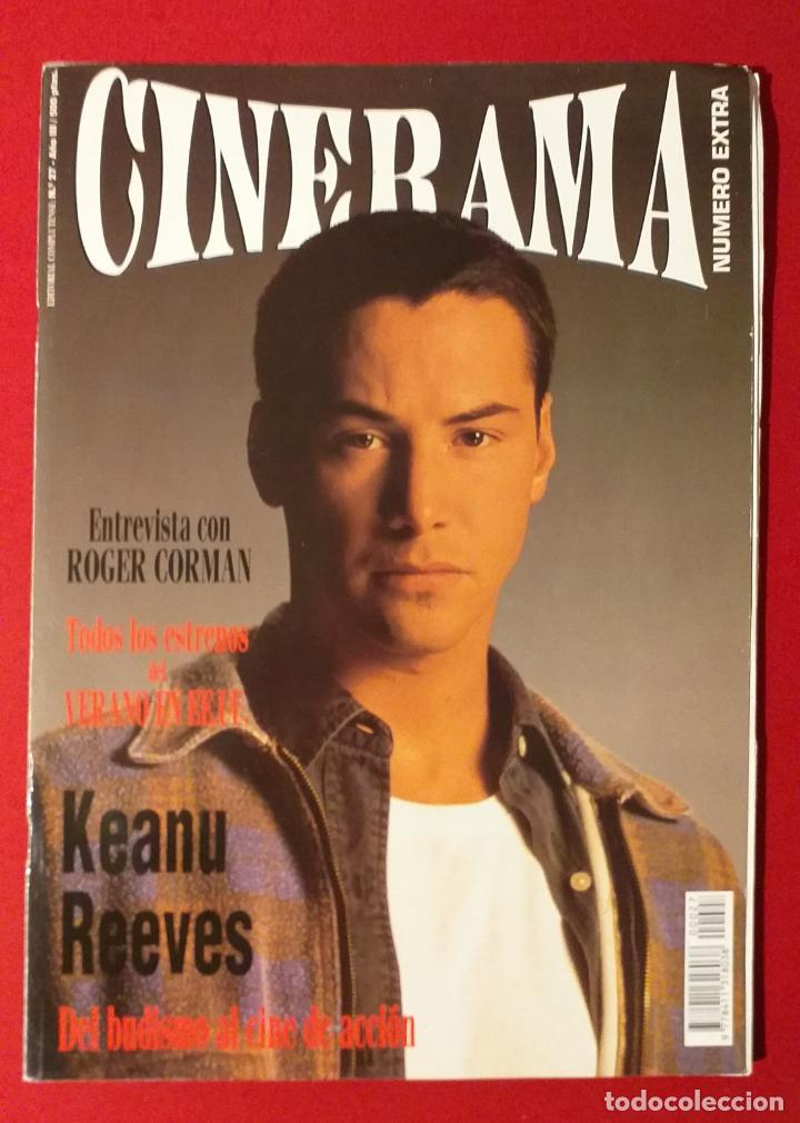 REVISTA CINERAMA Nº 27 KEANU REEVES, ROGER CORMAN (Cine - Revistas - Cinerama)