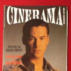 Cine: REVISTA CINERAMA Nº 27 KEANU REEVES, ROGER CORMAN. Lote 190869365