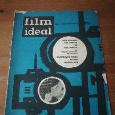 Cine: REVISTA FILM IDEAL. NÚMERO 111. 1963.. Lote 190905496