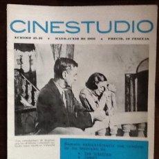 Cine: CINESTUDIO, NÚMERO 45-46. 1966, EN CUBIERTA, LOS COMULGANTES. BECKER, ENTIDAD DEL ABSIURDO.... Lote 190930081