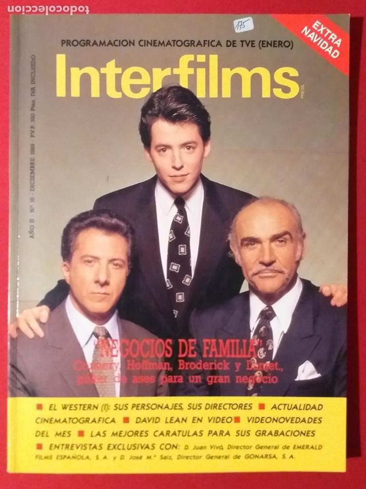 REVISTA INTERFILMS. Nº 16. AÑO 1989 (Cine - Revistas - Interfilms)