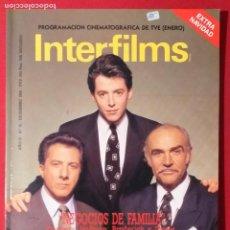 Cine: REVISTA INTERFILMS. Nº 16. AÑO 1989. Lote 191008585