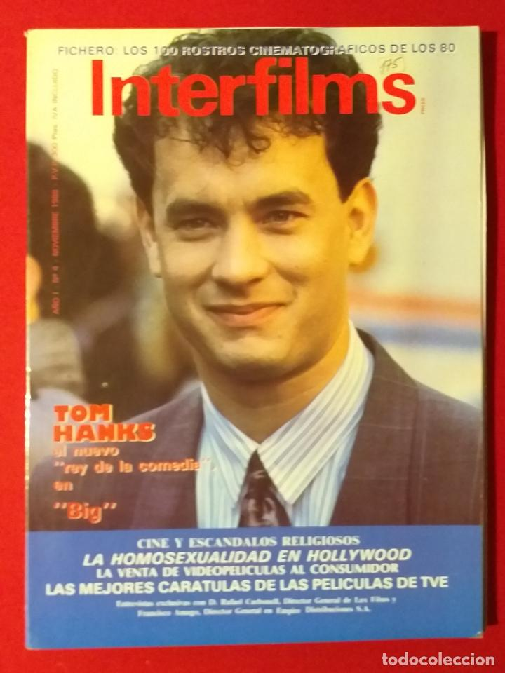 REVISTA INTERFILMS. Nº 4 AÑO 1988 (Cine - Revistas - Interfilms)