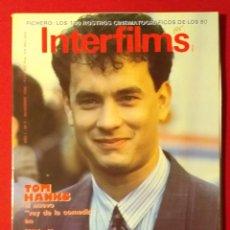 Cine: REVISTA INTERFILMS. Nº 4 AÑO 1988. Lote 191008752