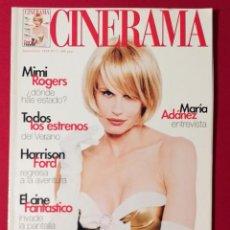Cine: CINERAMA - NÚMERO 71 - JUNIO Y JULIO 1998 , DARYL HANNAH - MIMI ROGERS - MARIA ADANEZ. Lote 191009232