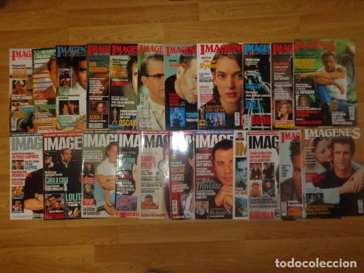 LOTE 59 REVISTAS 'IMAGENES DE LA ACTUALIDAD' ENTRE LOS AÑOS 1991 Y 2007 (Cine - Revistas - Imágenes de la actualidad)