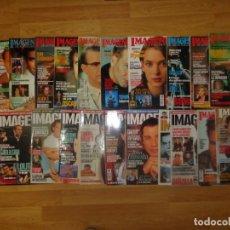 Cine: LOTE 59 REVISTAS 'IMAGENES DE LA ACTUALIDAD' ENTRE LOS AÑOS 1991 Y 2007. Lote 191128535