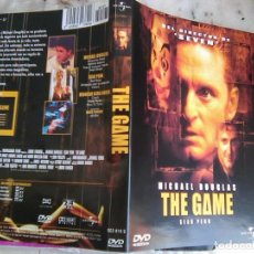 Cine: CARÁTULA DVD DE THE GAME DE MICHAEL DOUGLAS Y SEAN PENN. Lote 191340300