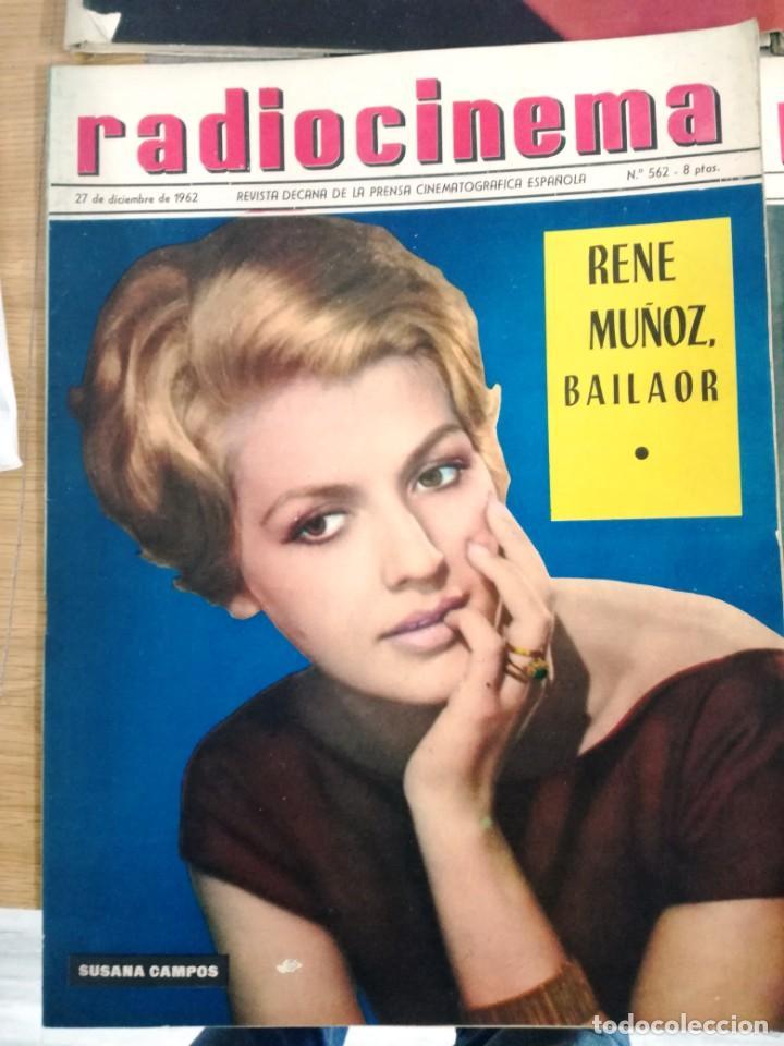 Cine: LOTE DE 8 REVISTAS RADIOCINEMA AÑOS 60 VER FOTOS . - Foto 5 - 191354275