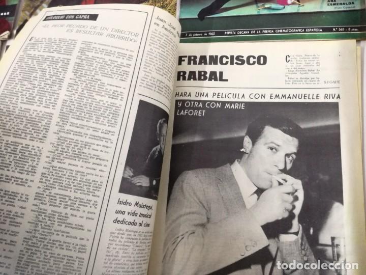 Cine: LOTE DE 8 REVISTAS RADIOCINEMA AÑOS 60 VER FOTOS . - Foto 10 - 191354275