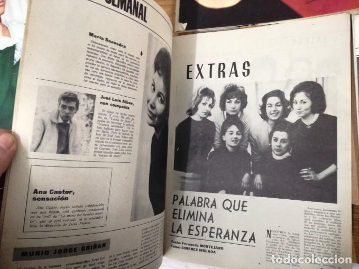 Cine: LOTE DE 8 REVISTAS RADIOCINEMA AÑOS 60 VER FOTOS . - Foto 13 - 191354275