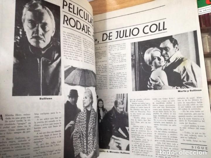 Cine: LOTE DE 8 REVISTAS RADIOCINEMA AÑOS 60 VER FOTOS . - Foto 14 - 191354275