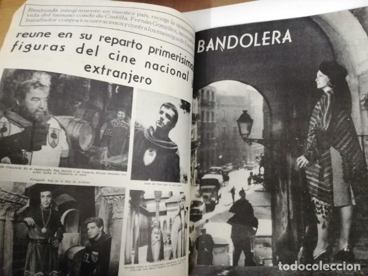 Cine: LOTE DE 8 REVISTAS RADIOCINEMA AÑOS 60 VER FOTOS . - Foto 16 - 191354275