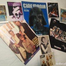 Cine: LOTE STAR WARS FOTOGRAMAS ESPECIAL - CINEMANIA 3D - ESTRENOS Y POSTALES - VER DETALLE. Lote 191399427
