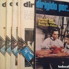 Cine: DIRIGIDO POR - LOTE DE 20 EJEMPLARES - MUY BIEN CONSERVADOS. Lote 191437335