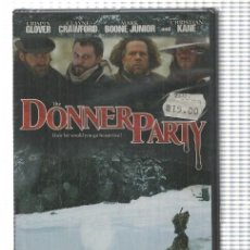 Cine: PELICULA DVD: THE DONNER PARTY (PARA DVD CON SISTEMA REPRODUCION AMERICANO NTSC). Lote 191470107