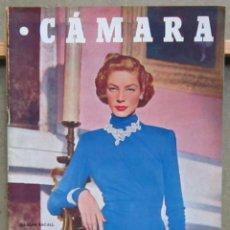 Cine: ZY80D LAUREN BACALL REVISTA ESPAÑOLA CAMARA MAYO 1951. Lote 191483493