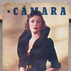 Cine: ZY81D GENE TIERNEY BARBARA STANWYCK REVISTA ESPAÑOLA CAMARA AGOSTO 1950. Lote 191483740