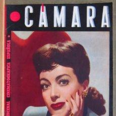 Cine: ZY84D JOAN CRAWFORD REVISTA ESPAÑOLA CAMARA JUNIO 1945. Lote 191485681