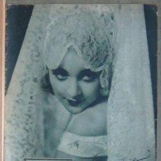 Cine: ZY88D CAROLE LOMBARD REVISTA ESPAÑOLA POPULAR FILM ENERO 1930. Lote 191486780