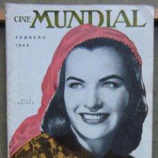 Cine: ZY95D ELLA RAINES REVISTA AMERICANA EN ESPAÑOL CINE MUNDIAL FEBRERO 1948. Lote 191491058