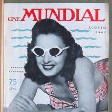 Cinema: ZY97D BARBARA STANWYCK REVISTA AMERICANA EN ESPAÑOL CINE MUNDIAL AGOSTO 1947. Lote 191491541