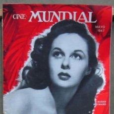 Cine: ZY98D SUSAN HAYWARD REVISTA AMERICANA EN ESPAÑOL CINE MUNDIAL MAYO 1947. Lote 191492091