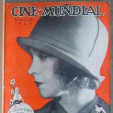 Cine: ZZ00D LILLIAN GISH REVISTA AMERICANA EN ESPAÑOL CINE MUNDIAL MARZO 1926. Lote 191492653