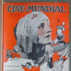 Cine: ZZ01D NORMA SHEARER REVISTA AMERICANA EN ESPAÑOL CINE MUNDIAL NOVIEMBRE 1925. Lote 191493547