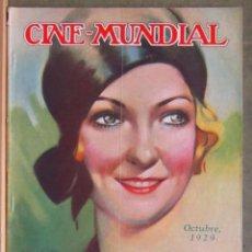 Cine: ZZ04D LAURA LA PLANTE REVISTA AMERICANA EN ESPAÑOL CINE MUNDIAL OCTUBRE 1929. Lote 191495365