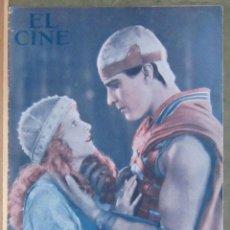 Cine: ZZ06D RAMON NOVARRO MAY MACAVOY BEN HUR REVISTA ESPAÑOLA EL CINE ENERO 1932. Lote 191496108