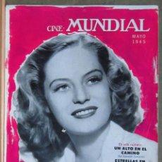 Cine: ZZ07D ALEXIS SMITH REVISTA AMERICANA EN ESPAÑOL CINE MUNDIAL MAYO 1945. Lote 191496266