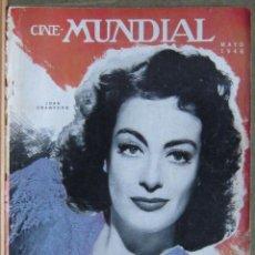 Cine: ZZ10D JOAN CRAWFORD REVISTA AMERICANA EN ESPAÑOL CINE MUNDIAL MAYO 1946. Lote 191497616