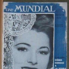 Cine: ZZ11D ELEANOR PARKER REVISTA AMERICANA EN ESPAÑOL CINE MUNDIAL AGOSTO 1946. Lote 191498301