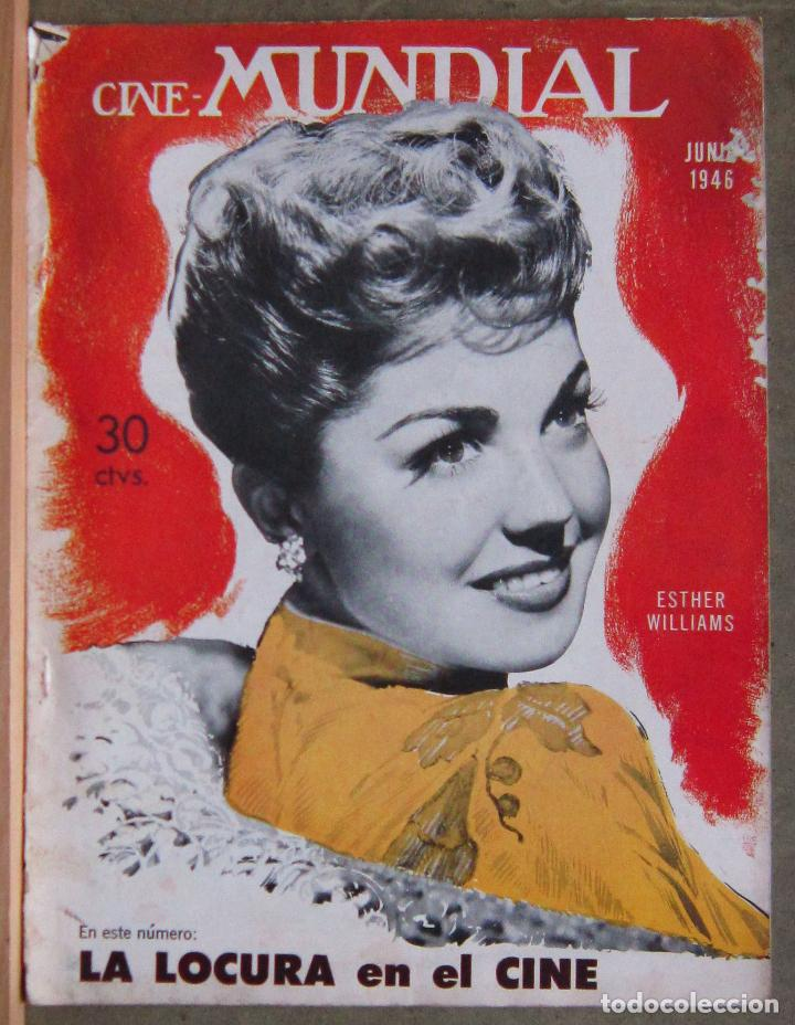 ZZ10D ESTHER WILLIAMS REVISTA AMERICANA EN ESPAÑOL CINE MUNDIAL JUNIO 1946 (Cine - Revistas - Cine Mundial)