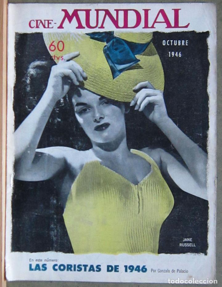ZZ13D JANE RUSSELL REVISTA AMERICANA EN ESPAÑOL CINE MUNDIAL OCTUBRE 1946 (Cine - Revistas - Cine Mundial)