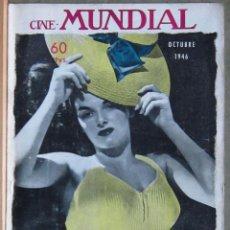 Cine: ZZ13D JANE RUSSELL REVISTA AMERICANA EN ESPAÑOL CINE MUNDIAL OCTUBRE 1946. Lote 191498882