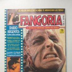 Cine: FANGORIA Nº 31 TERROR - SCANNER POLICIA, HOMBRE LOBO, DANNY ELFMAN, DARIO ARGENTO, ZOMBIES. Lote 191590318