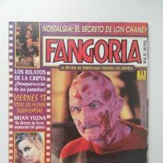 Cine: FANGORIA Nº 30 - LON CHANEY, TERROR, VIERNES 13, BRIAN YUZNA, KRUEGER, ZINCO. Lote 191590508