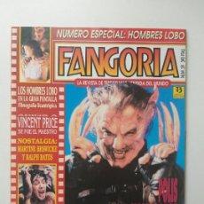 Cine: FANGORIA Nº 29 HOMBRE LOBO, VINCENT PRICE, MARTINE BESWICKE, RALPH BATES, JOHN LANDIS, DENTELADAS. Lote 191590673