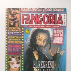 Cine: FANGORIA Nº 27 - EL REGRESO DE LOS MUERTOS VIVIENTES 3 NOCHE ETRENA, PARQUE JURASICO, DARIO ARGENTO. Lote 191590985