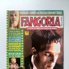 Cine: FANGORIA Nº 26 LA FAMILIA ADDAMS ,EL ENEMIGO FINAL DE JASON, HOCUS FOCUS VA DE BRUJAS. Lote 191592116