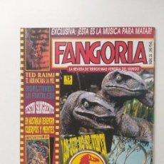 Cine: FANGORIA Nº 24 - PARQUE JURASICO, MICHAEL CRICHTON, TED RAIMI, MUSICA PARA MATAR. Lote 191592407