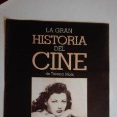 Cine: LA GRAN HISTORIA DEL CINE CAPÍTULO 13. Lote 191615230