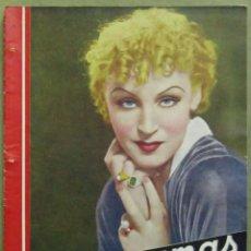Cine: AAD32 BRIGITTE HELM REVISTA ESPAÑOLA CINEGRAMAS ENERO 1935 Nº 19. Lote 191617577