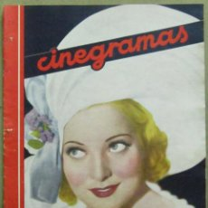 Cinema: AAD33 PAT PATERSON REVISTA ESPAÑOLA CINEGRAMAS ENERO 1935 Nº 20. Lote 191617931